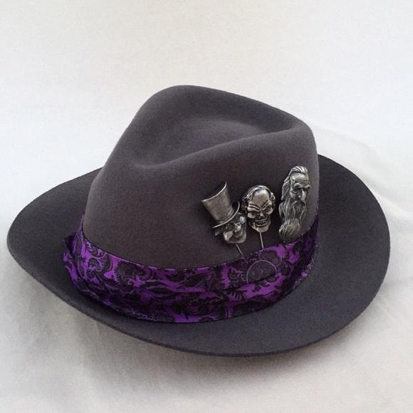 4b30f2b30 Disney Haunted Mansion fedora Hat NWT NWT